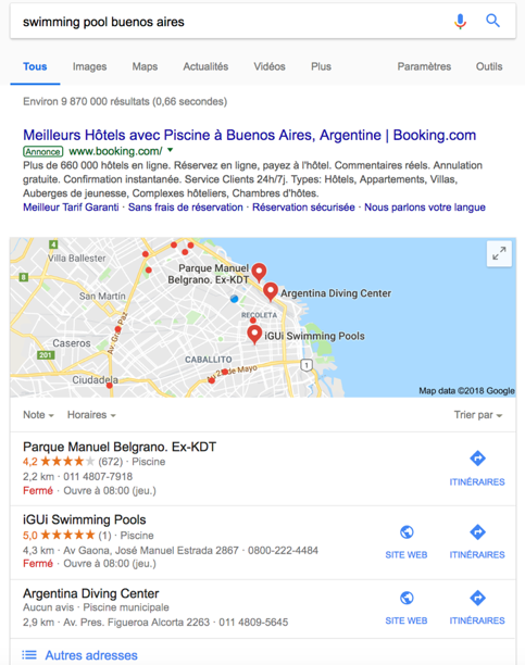 SEO Pack local
