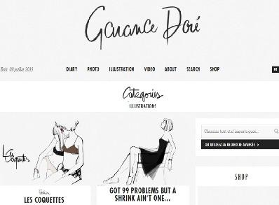 Garance Doré Influenceur blog mode