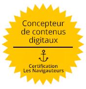 certification concepteur de contenus digitaux