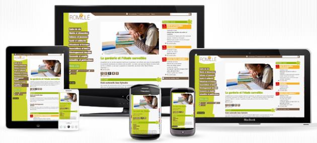Exemple de site en rwd