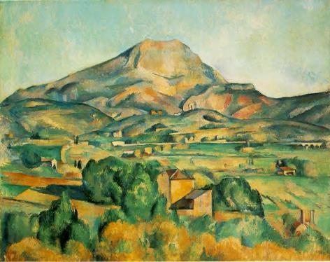 Cezanne Sainte Victoire