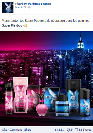 Playboy parfums séduction