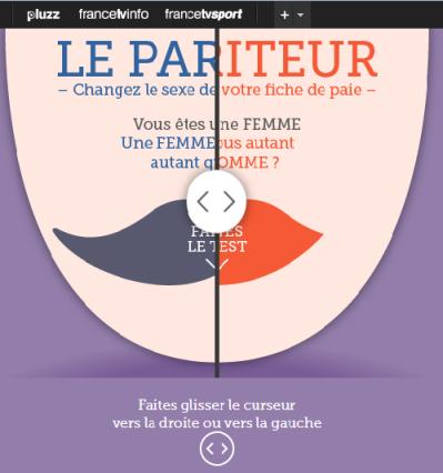 infographie parité salaire