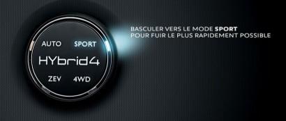 Peugeot hybride storytelling